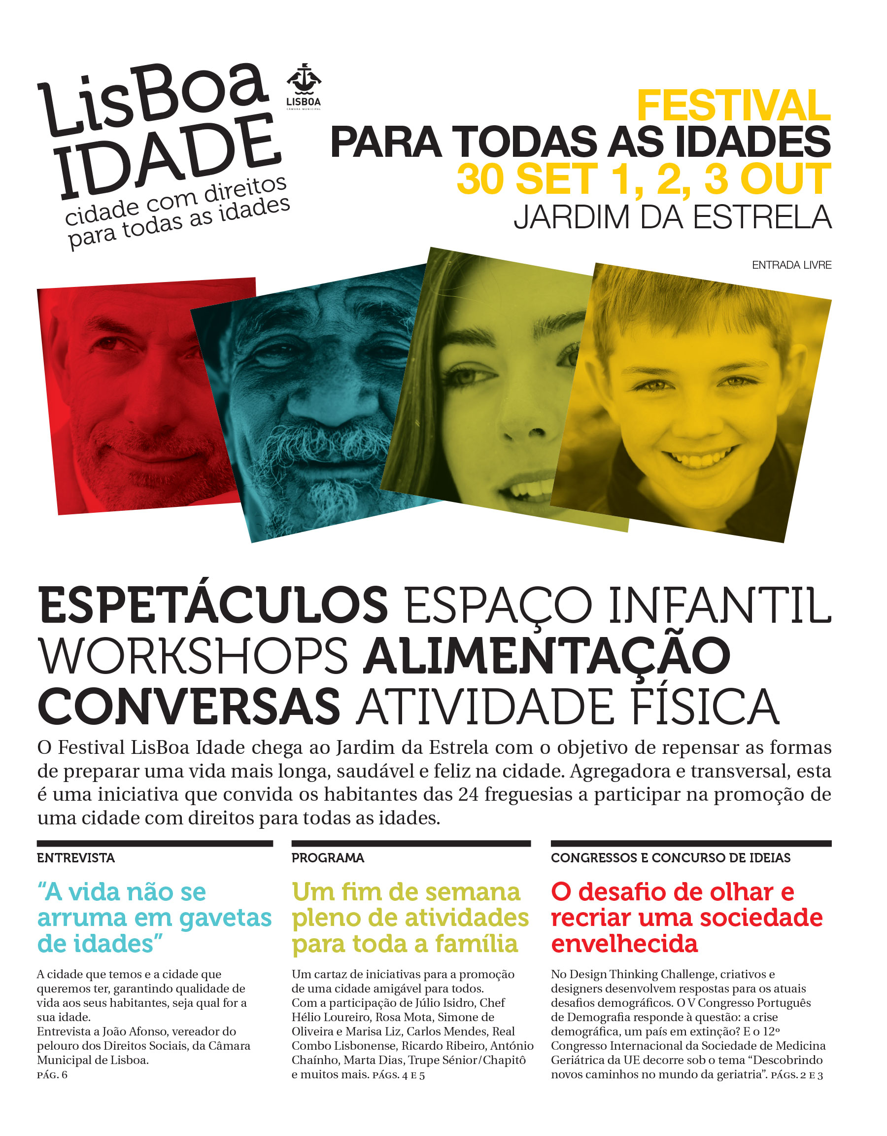 Festival LisboaIdade 2016 - jornal