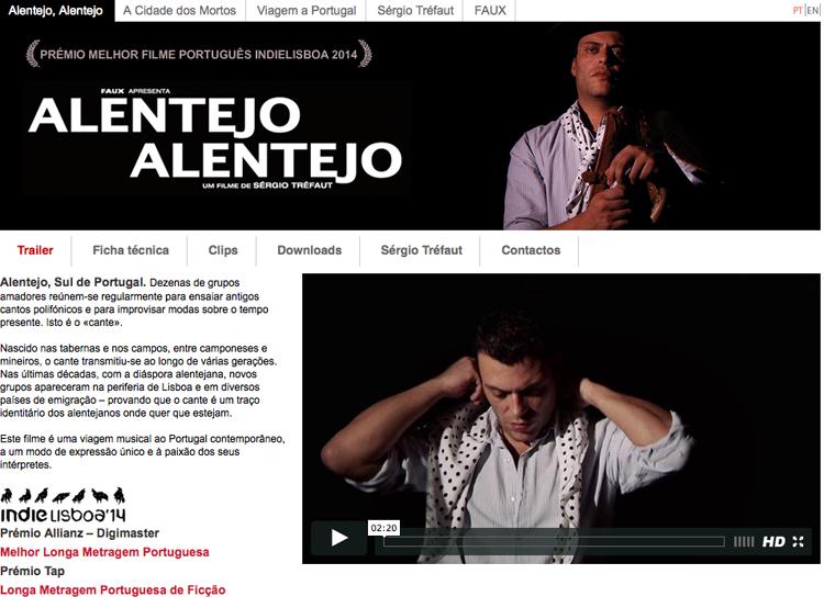 Alentejo Alentejo filme de Sérgio Tréfaut