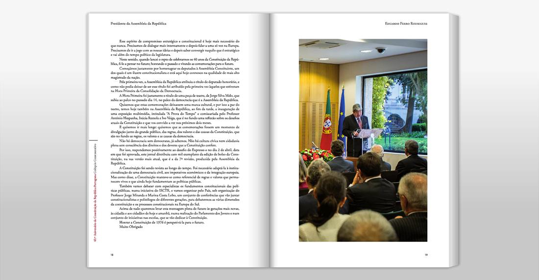 Tribunal Constitucional - 40º Aniversário da Constituição da República Portuguesa