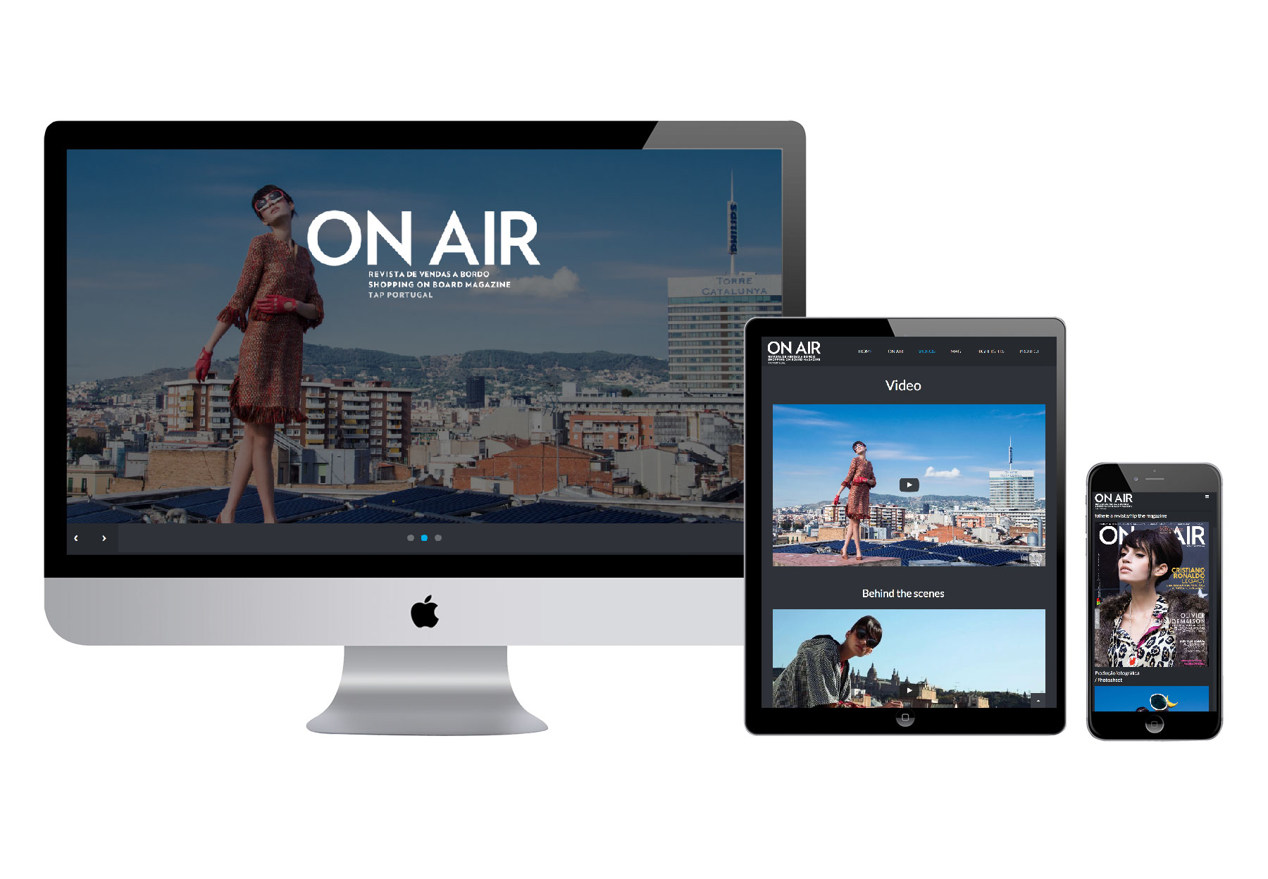 ON AIR #Barcelona site
