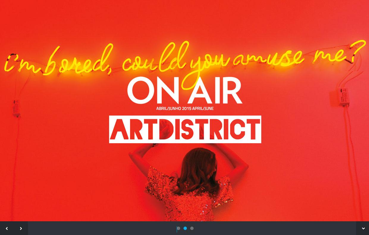ON AIR - ARTDISTRICT - site