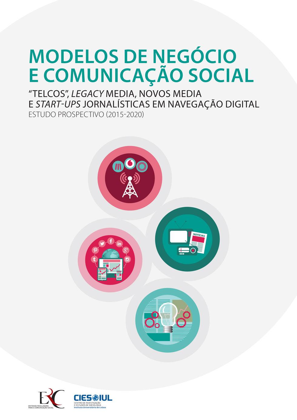 Capa - MODELOS DE NEGÓCIO E COMUNICAÇÃO SOCIAL