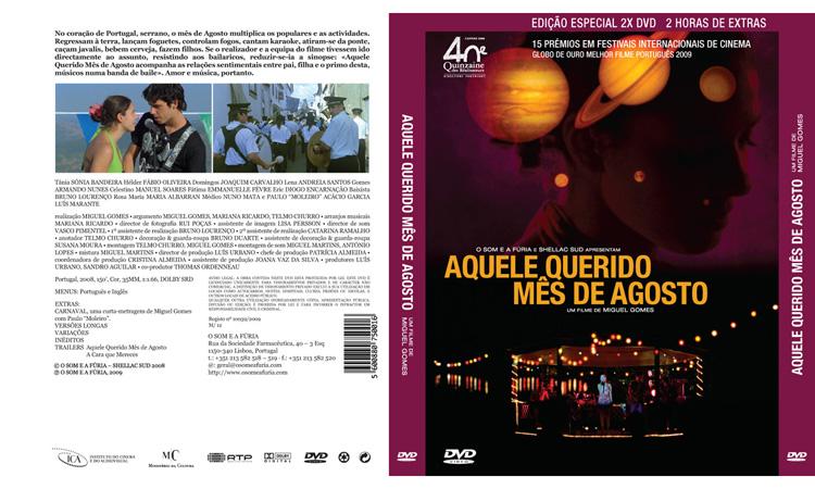 Aquele querido mês de Agosto - DVD