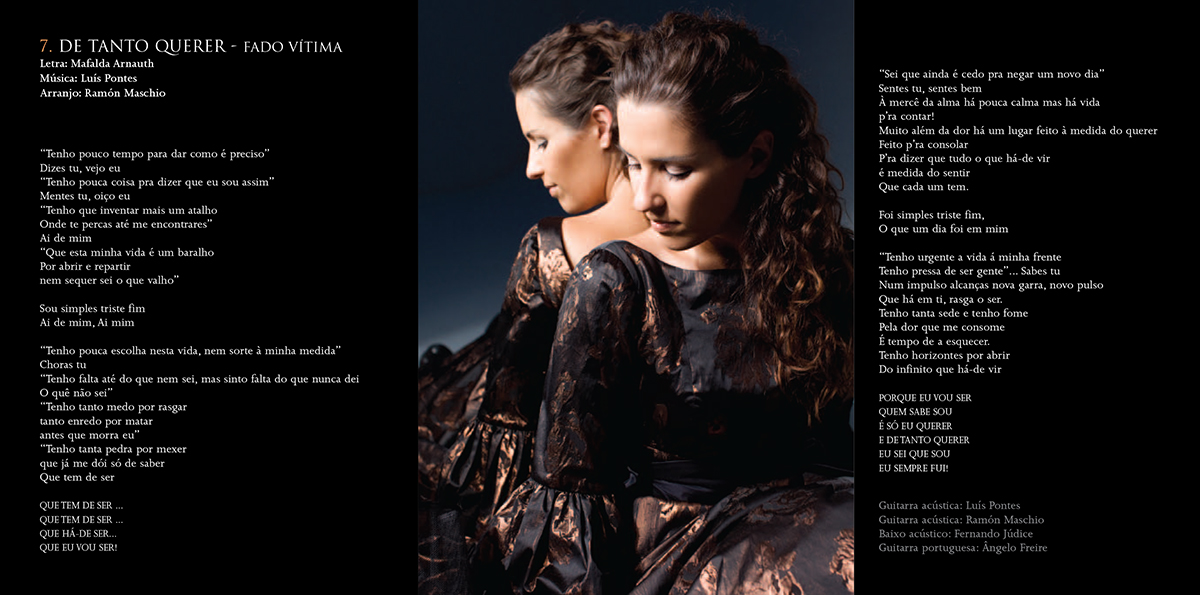 MAFALDA ARNAUTH «FLOR DE FADO» booklet