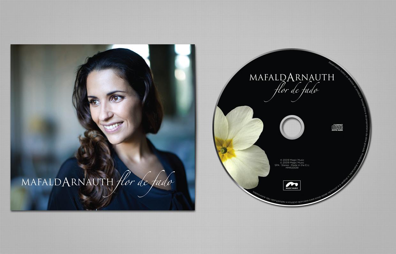 MAFALDA ARNAUTH «FLOR DE FADO» capa + cd