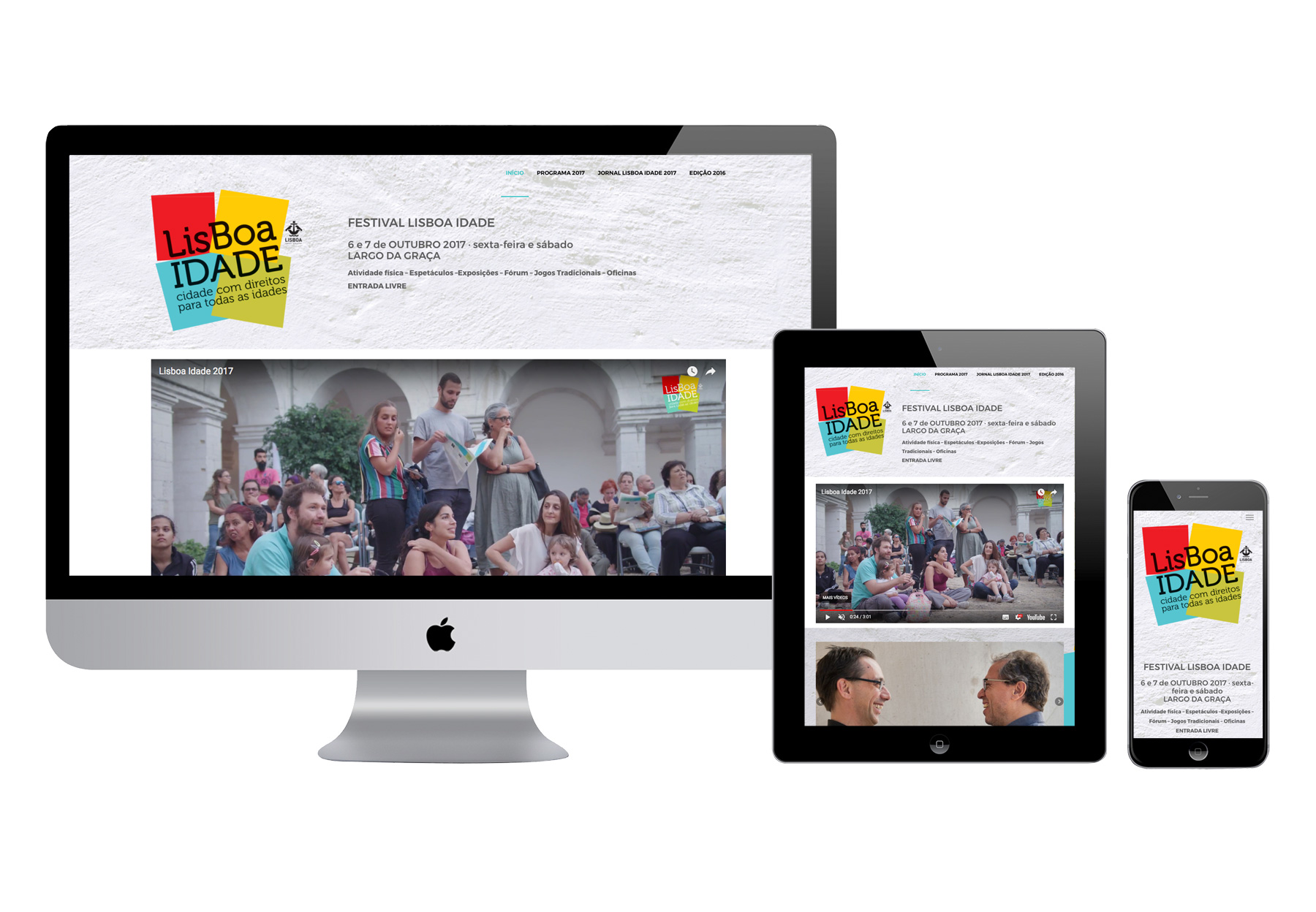 Festival LisboaIdade 2017 - site