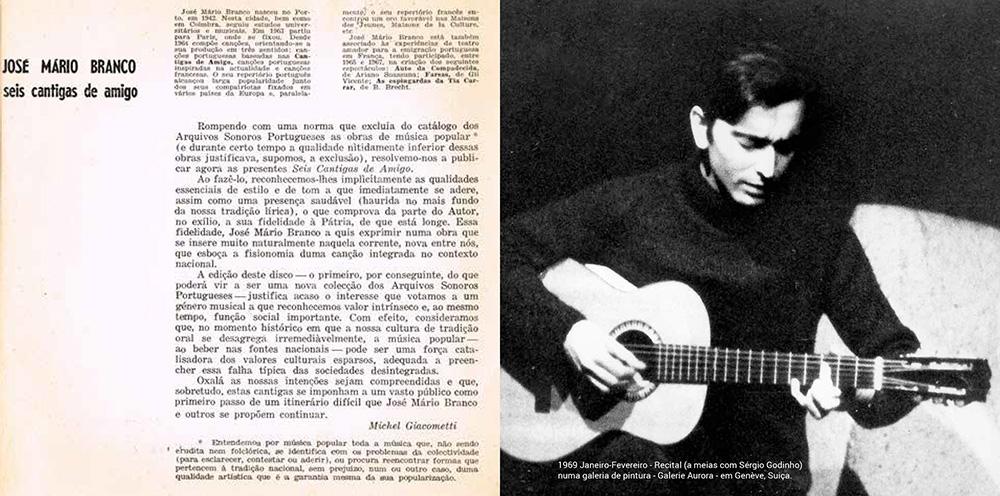 José Mário Branco - Inéditos 1967-1999 (booklet)